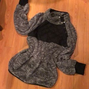 Sherpa Pullover Size Large